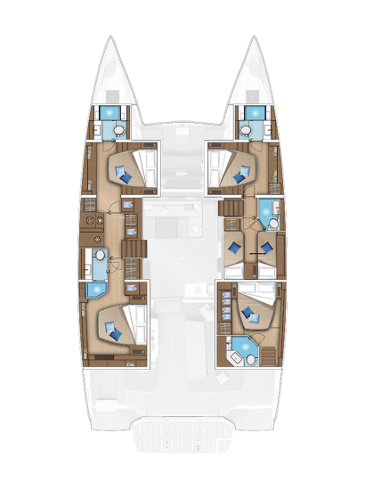 5 CABINS