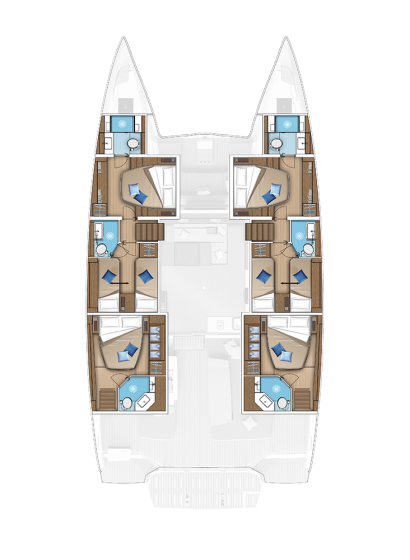 6 CABINS